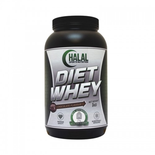 Halal Nutrition - Diet Whey (Chocolate) - 1kg