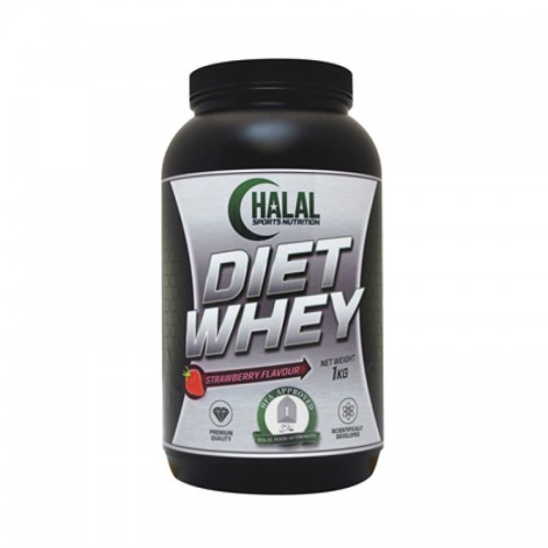 Halal Nutrition - Diet Whey (Strawberry) - 1kg